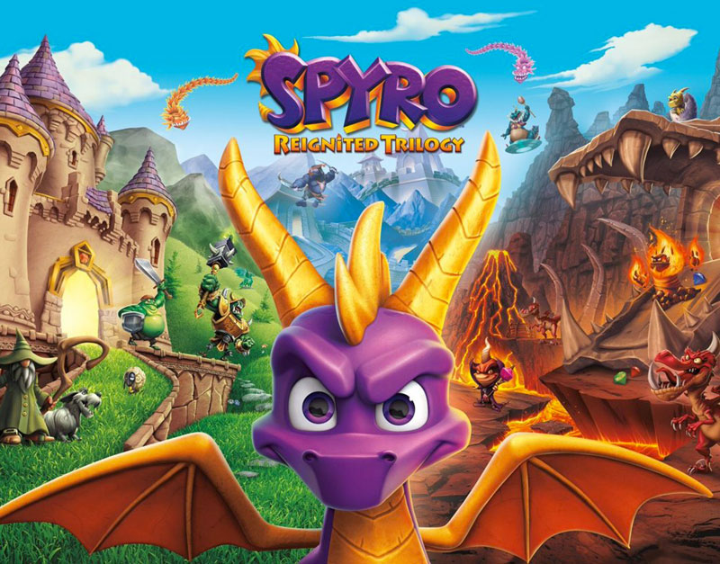 Spyro Reignited Trilogy (Xbox One), The Zoom Gaming, thezoomgaming.com